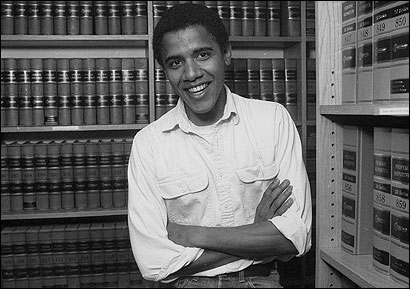 In 1990, Barack Obama was elected Harvard Law Review president over 18 others.
