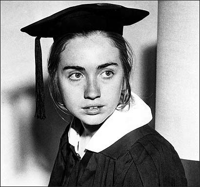 hillary clinton and college writings and thesis