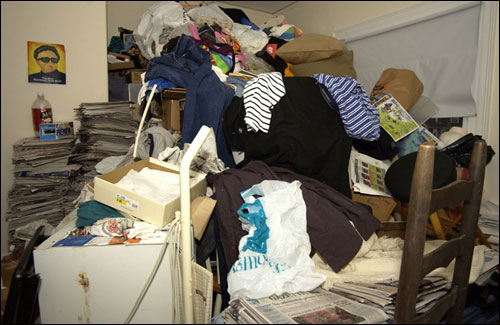 The subjects tend to have reached the point where they lose whole rooms to piles of what to them are treasures and to anyone else looks like trash.