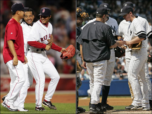 Can it get any better for the Red Sox? And can it get any worse for the Yankees? With a whopping 13½ games separating the two teams, it's not hard to recognize they are moving in dramatically different directions. We look at recent developments with both teams to make that point as they prepare for a weekend series at Fenway.