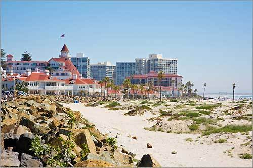 5. Coronado Beach San Diego, Calif. Plan your trip
