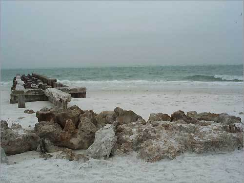 3. Siesta Beach Sarasota, Fla. (Pictured: Nearby Sunset Point at Siesta Key) Plan your trip