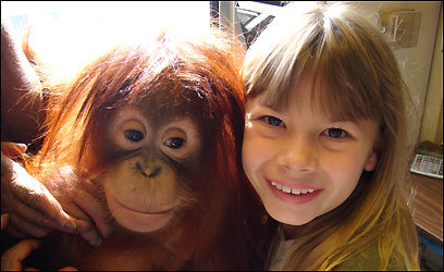 In Jungle Girl Engaging Bindi Keeps The Irwin Name