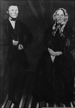The Romney family came from Dalton-in-Furness in northwest England. Mitt Romney's great-great-grandparents, Miles Archibald Romney and his wife, Elizabeth, heard a Mormon missionary speak near their village, converted to the faith, and arrived in the United States in 1841.