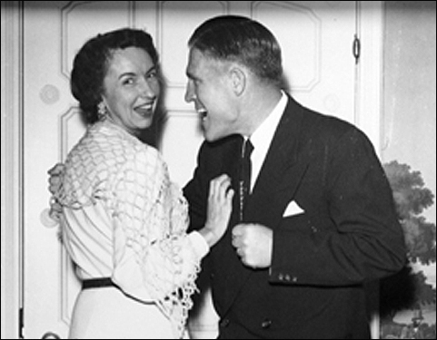 Governor George Romney of Michigan and his wife, Lenore.