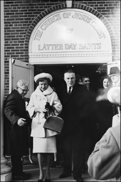 George and Lenore Romney after George was elected governor of Michigan.
