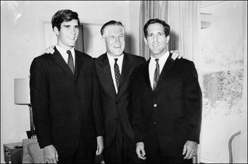 The Romney men: Mitt, George, Scott