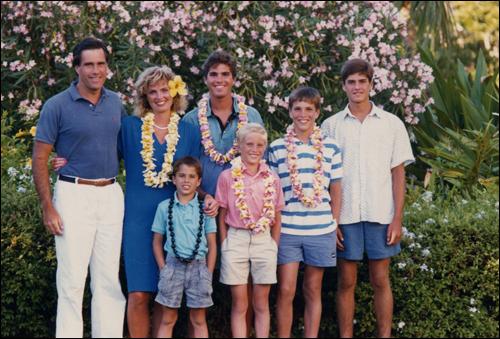 Mitt Romney's family.