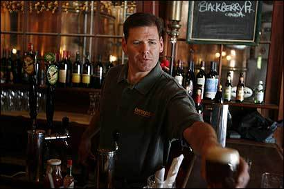 Phil McAndrews purchased Offshore Ale in Oak Bluffs even though he had never owned a business.