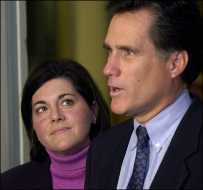 Acting Governor Jane Swift met with Mitt Romney for the first time after she withdrew under pressure from the 2002 Republican primary to clear the way for Romney to run unopposed. She supported Romney then but is backing John McCain in the 2008 GOP presidential contest.