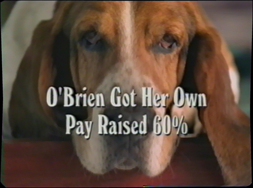 Duncan, the basset hound, starred in a pair of Mitt Romney TV ads that helped him pull ahead of Democratic state Treasurer Shannon O'Brien in the final weeks of the 2002 gubernatorial election. In the comical but negative spots, the passive pooch was supposed to be a watchdog guarding the state Treasury.