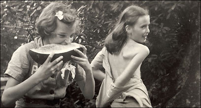 'Girls With Watermelon'