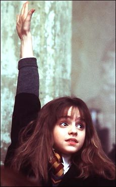 Emma Watson in 'Harry Potter and the Sorcerer's Stone'