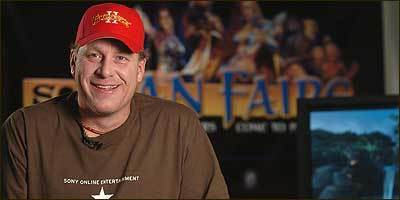 Video game fan and creator Curt Schilling