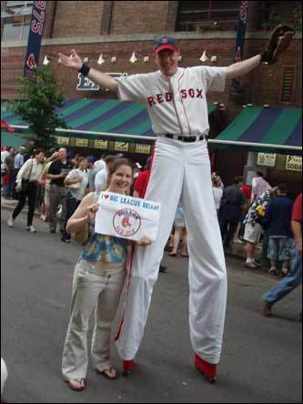 Red Sox fan photos