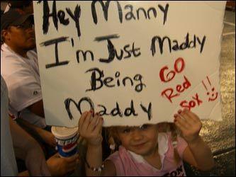 Red Sox fan photos