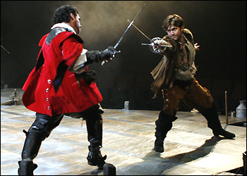 orth Shore Music Theatre's production of 'The Three Musketeers'
