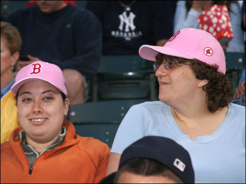 While Red Sox Nation has a faction called the Pink Hat Crowd, the Yankees have their own legion of new fans ...