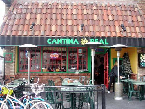 A cantina in Southern California.
