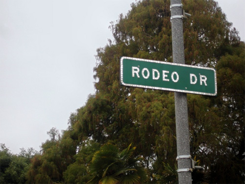 Famous Rodeo Drive.