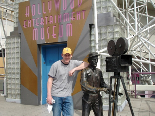 At the Hollywood Entertainment Museum.