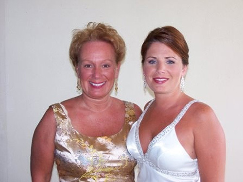 My Mom and Me before the wedding