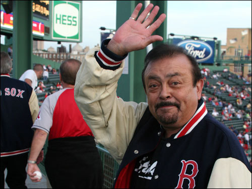 Dick Dodd of The Standells, who sang ''Dirty Water,'' lives in California but has been a Red Sox fan for years. He said he couldn't wait to play Fenway's signature celebration song on the field.