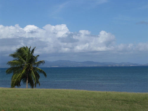 a view of main land Puerto Rico