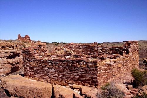 Wupatki Ruins, Flagstaff, AZ.