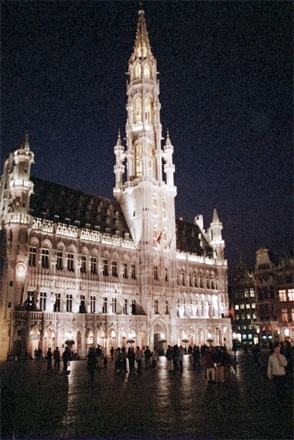 Hotel de Ville in the Grand Place...1401-1449