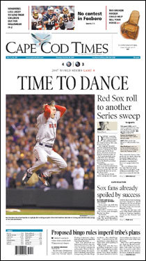 ... and the Cape Cod Times.