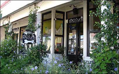 Petunia is a boutique shop in Apalachicola for prized pets and their owners.