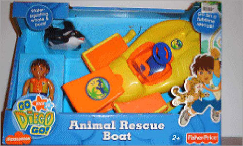 Go Diego Go Animal Rescue Boat