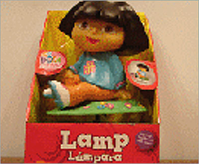 Dora the Explorer Lamp