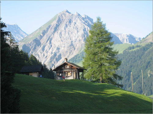 Girl scouts in switzerland and milan