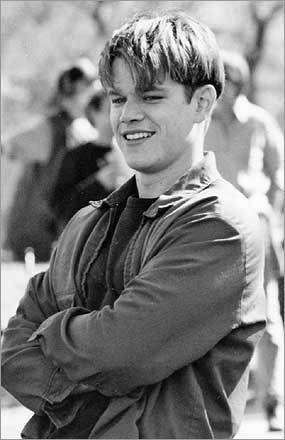 A screenplay written by two best friends from Cambridge with big dreams, 'Good Will Hunting' launched careers and captured Oscar glory. Matt Damon then ... Having crash-dieted his way to attention as a heroin junkie in 'Courage Under Fire,' Damon was just getting himself onto the cultural radar when his turn as Will Hunting – and an Oscar nomination for Best Actor along with the actual statue for Screenwriting – shot him onto the A-list.