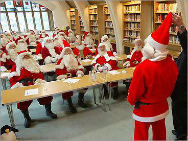 Dress as Santa
