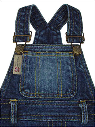 Denim Doggie Overalls