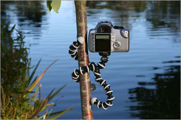 16. Joby's Gorillapod Here's a gift for the photographer on the go. Joby's Gorillapod tripod features three gripping legs that wrap-around almost any object. MSRP: $24.95, $44.95 More information: Joby's Gorillapod