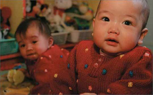 More Chinese orphans are seeing a US doctor before they're placed.