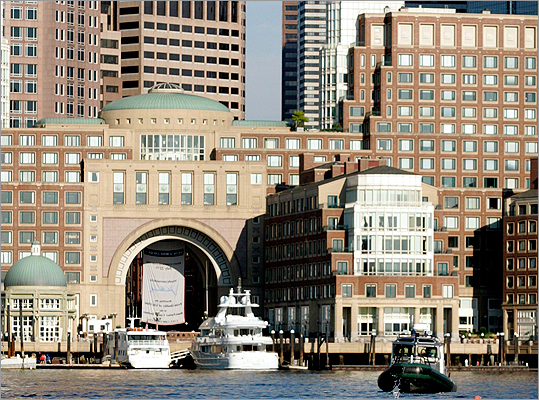 Boston Harbor Hotel 617-439-7000 Package: New Year's Eve Overnight Romance Package Accommodations for two, bottle of champagne, and chocolate-dipped strawberries delivered to your room on New Year's Eve. Breakfast in bed on New Year's Day, with 4 p.m. late checkout. Price: Rates start at $555 per couple, room tax not included. Package: New Year's Eve First Night Celebration Accommodations for two, a four-course dinner with a glass of champagne, two First Night buttons, New Year's Day brunch for two along with valet parking and extended checkout until 4 p.m. Price: Rates start at $695 per couple, room tax not included.
