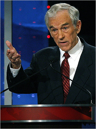 Representative Ron Paul of Texas has generated headlines in the 2008 race with his massive fund-raising and fervent supporters. But this isn't Paul's first run at the Oval Office. In 1988, Paul ran as a member of the Libertarian Party. His views haven't changed much over the past two decades -- much like his platform today, Paul ran then on promises to shrink the government, eliminate the personal income tax, and bring troops home from overseas.