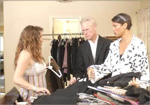 Tim Gunn and Veronica Webb of Tim Gunn's Guide to Style
