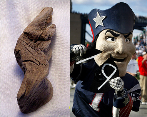 Driftwood and Pat Patriot
