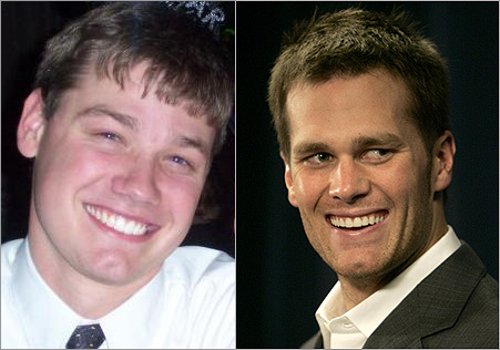 Michael Grant and Tom Brady