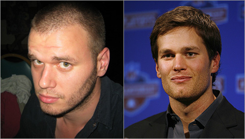 Ted Harvie and Tom Brady