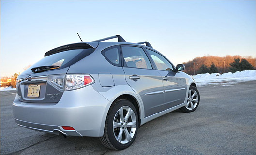 impreza outback a gripping ride the boston globe. Black Bedroom Furniture Sets. Home Design Ideas