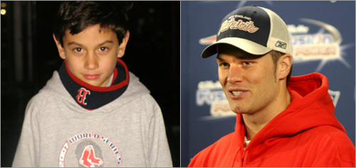Mark Rutkowski of Weston sent in this photo of his son, who he feels looks like Tom Brady. <!-- // define variables var date = new Date(); var current_time = date.getTime(); // write SCRIPT tag to browser document.writeln(' '); // -->