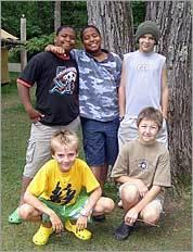Camp Keewaydin Dunmore in Salisbury, Vt.