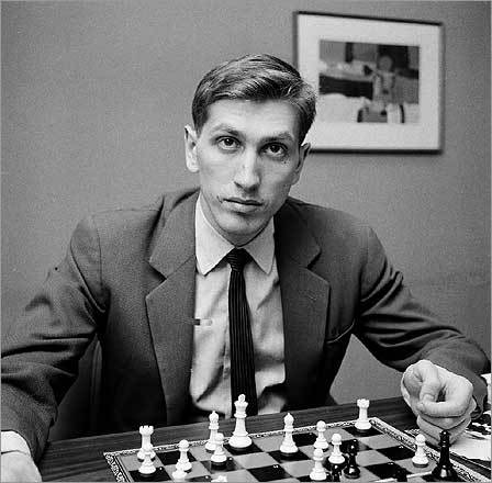 Bobby Fischer January 17 The most powerful American chess player in history, Fischer emerged only briefly in 1992 from a mysterious seclusion that had lasted two decades. He defied an American ban on business in Yugoslavia to play against his old nemesis, Boris Spassky, whom he beat handily. He was 64. Archive 1/19/08 Elusive genius was one of wold's greatest chess players